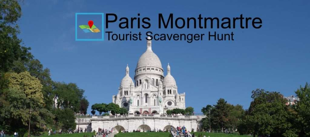 Montmartre Tourist Scavenger Hunt