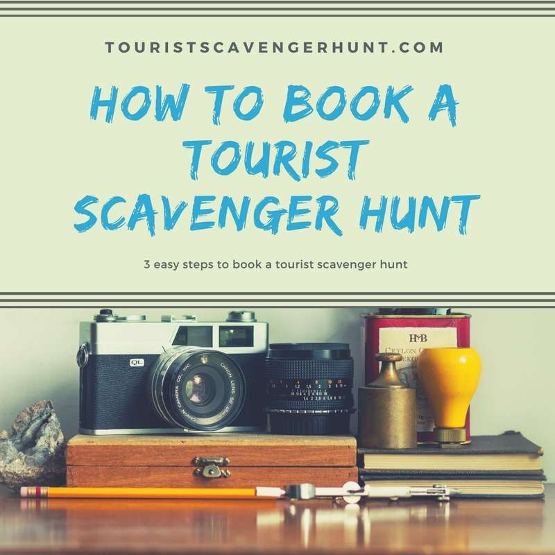 how to buy a tourist scavenger hunt