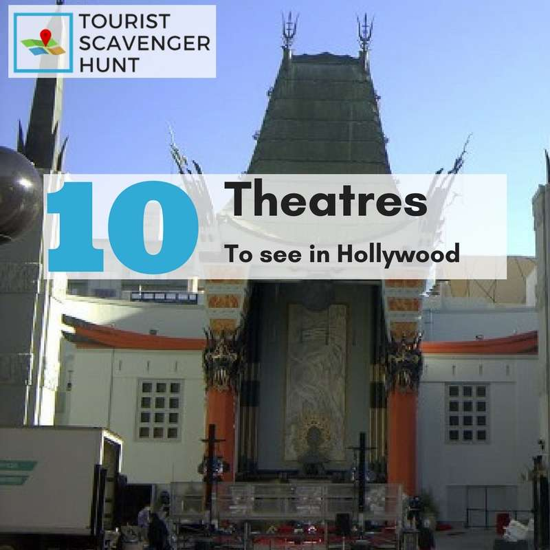 10 Hollywood Theatres not to miss