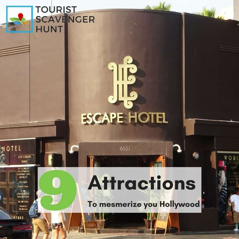attractions in hollywood