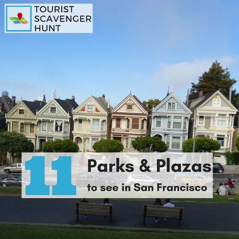 11 parks in San Francisco