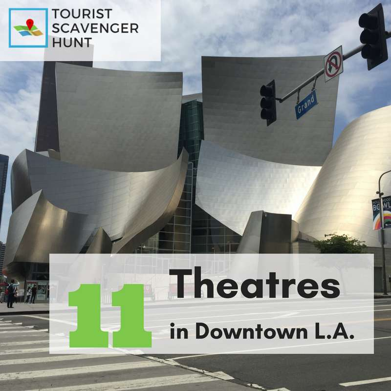 11 theatres in downtown LA