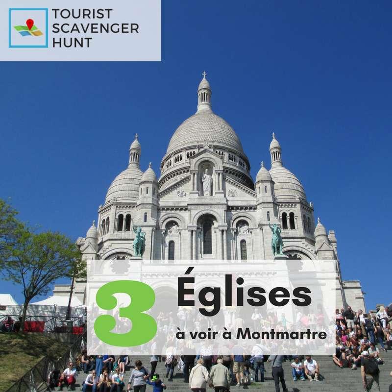 3 églises à voir dans Montmartre