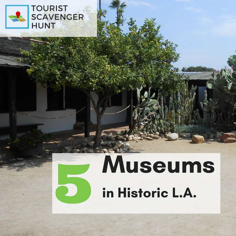 5 museums in L.A.'s historical district
