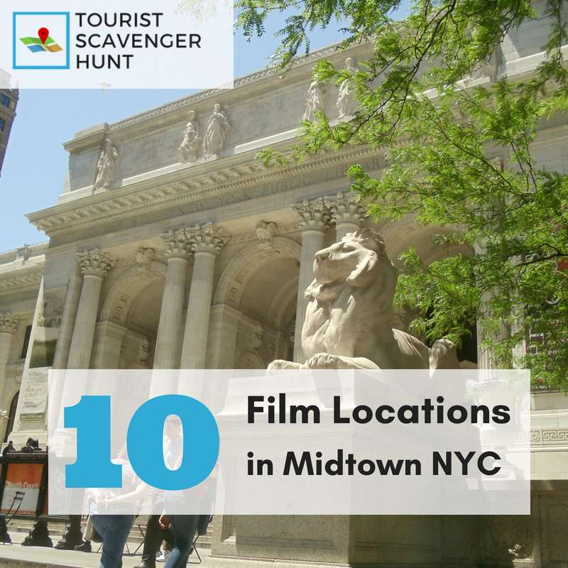 10 films locations in Midtown NYC