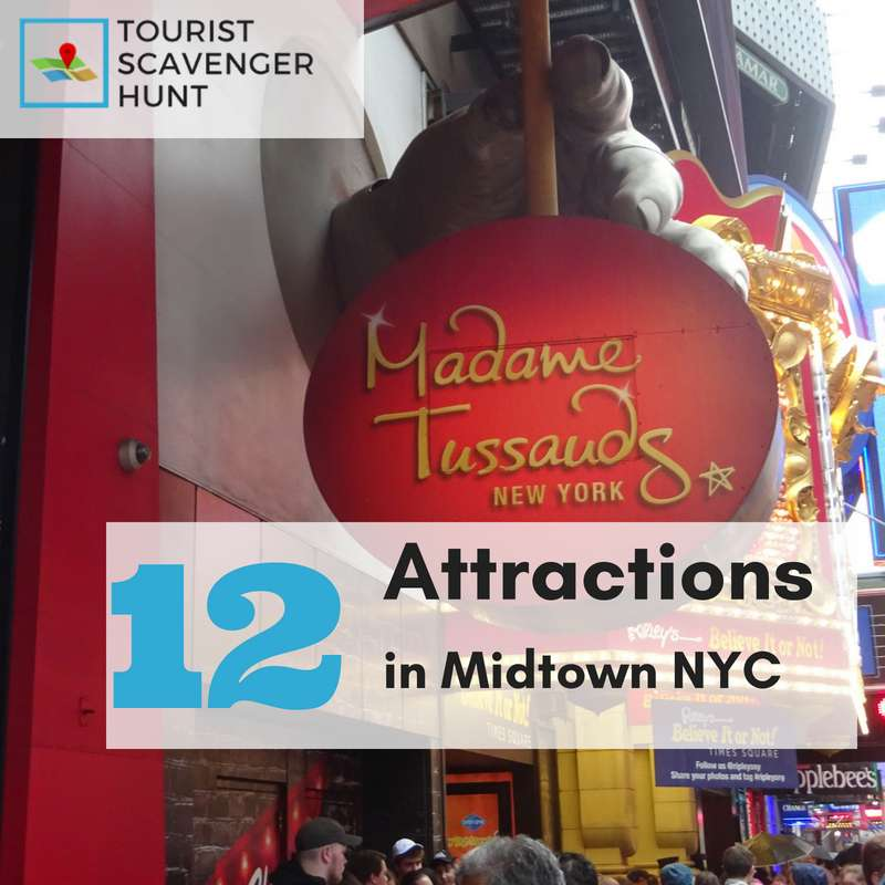 12 attractions in midtown new york