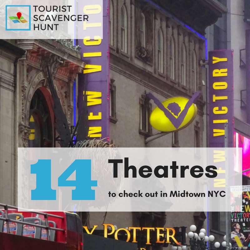 14 midtown theatres in new york