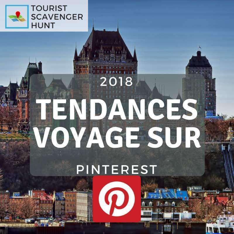 tendances voyage sur pinterest en 2018