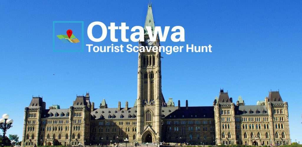 Ottawa tourist scavenger hunt