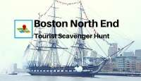 Boston North End Tourist Scavenger Hunt