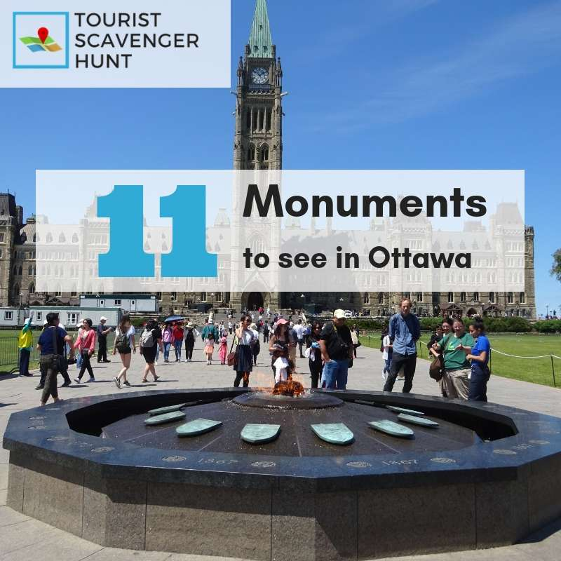 11 monuments in ottawa