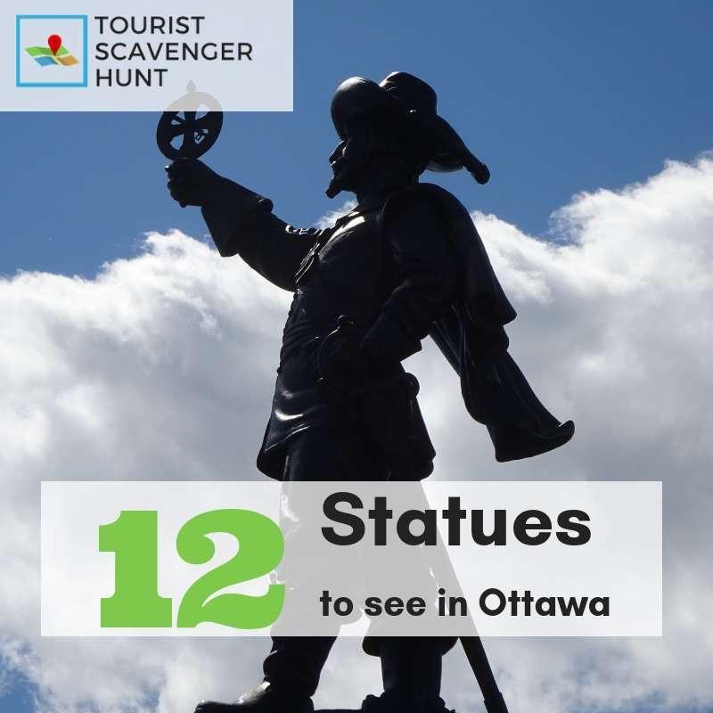 12 statues in ottawa