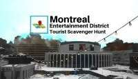 Montreal entertainment district tourist scavenger hunt