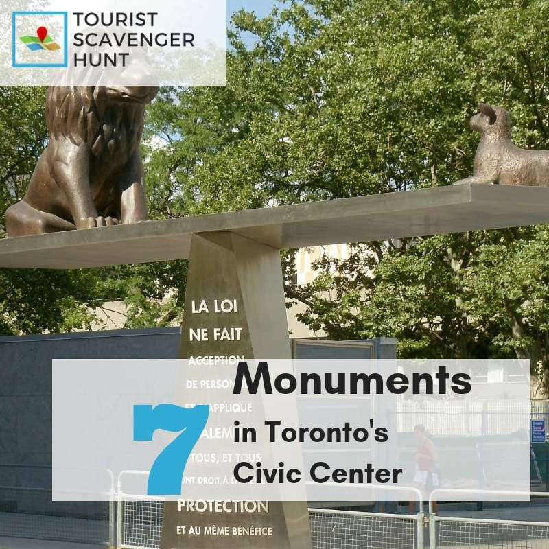 7 Toronto monuments in the civic center