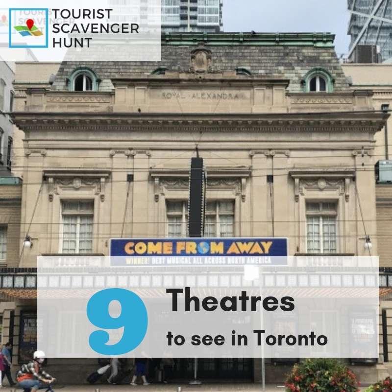 9 toronto theatres