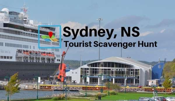 Sydney NS tourist scavenger hunt