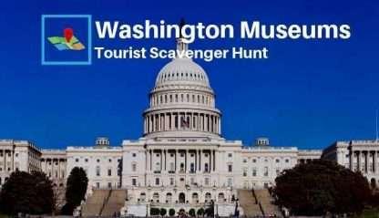 washington museums tourist scavenger hunt