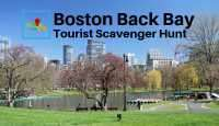 Boston Back Bay tourist scavenger hunt