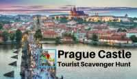 Prague Castle tourist scavenger hunt