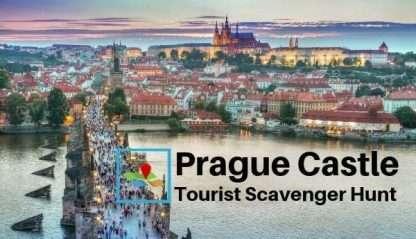 Prague Castle tourist scavenger hunt