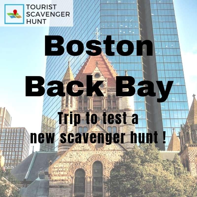 boston back bay trip