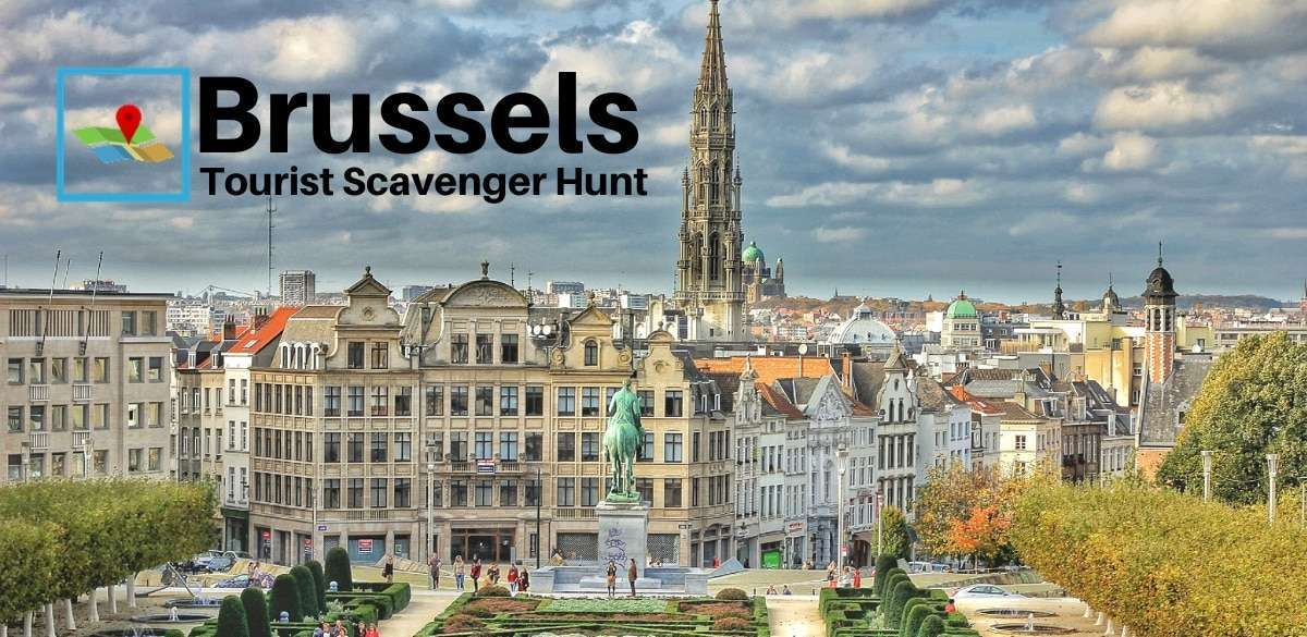 Brussels Tourist Scavenger Hunt