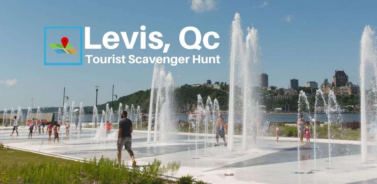 Levis Tourist Scavenger Hunt