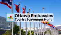 Ottawa Embassies tourist scavenger hunt