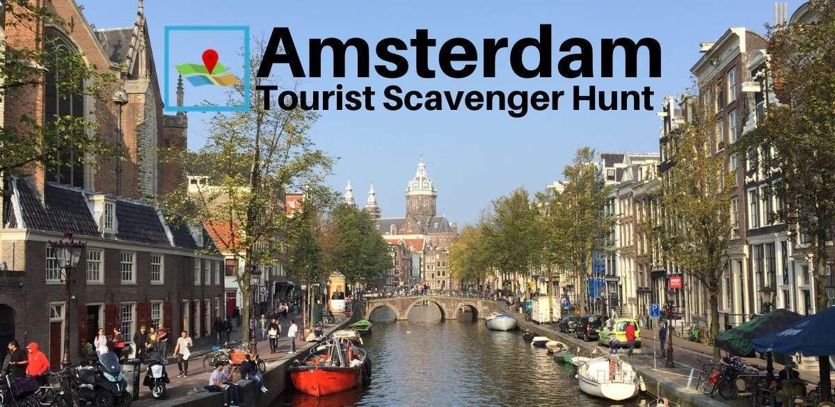 amsterdam tourist scavenger hunt