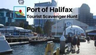 Port of Halifax tourist scavenger hunt