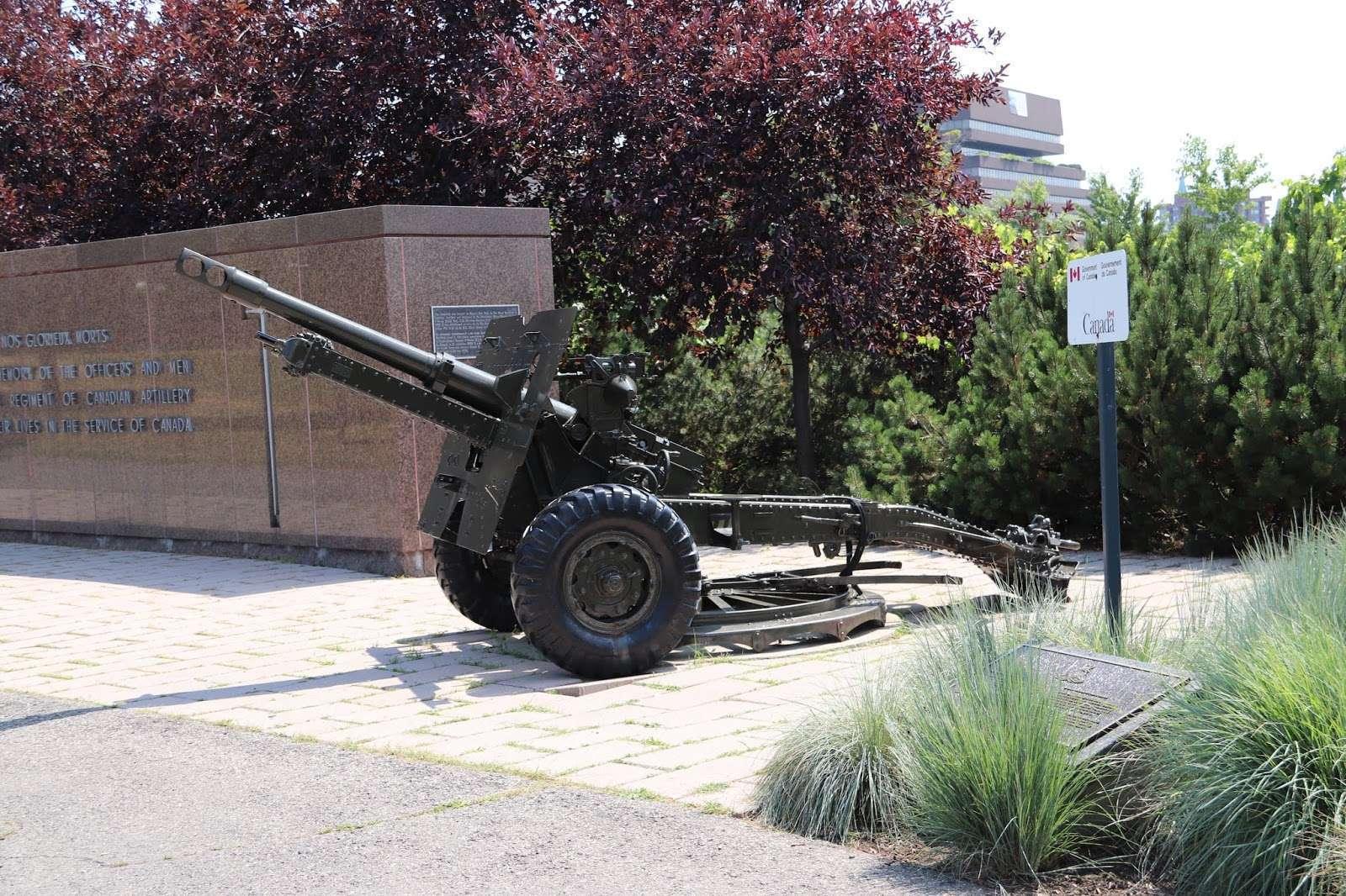 National artillery memorial