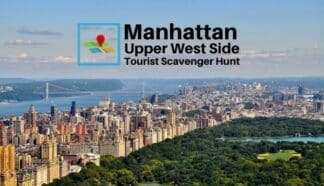 Manhattan upper west side tourist scavenger hunt